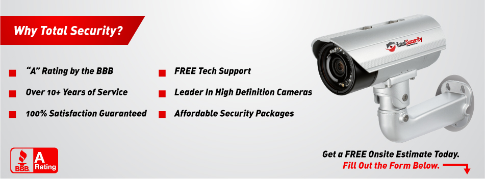 Long Island, New York and Queens Security Cameras Company: Video Security Camera Systems, Video Surveillance Systems Installations, Hidden Cameras, CCTV from Total Security Systems