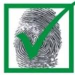 Fingerprint with Check Mark