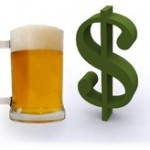 Beer Money Left On The Table From Shrink