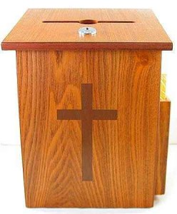 Donation Boxes for Churches Are Easy To Steal