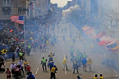 Boston Marathon Bombing 4/15/13 Security Breach Terorist Attack