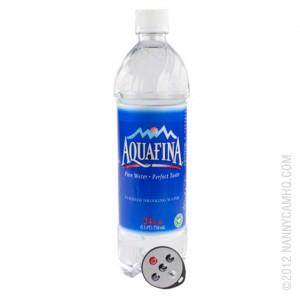 Water Bottle Hidden Camera