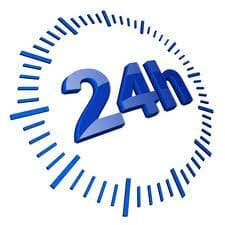 24/7 alarm system