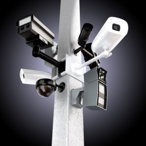 Mounted Video Surveillance Cameras