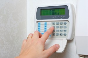security-home-control-panel