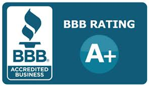 We are A+ Rated by the BBB