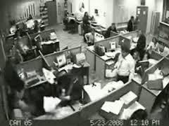 Office Security System Footage