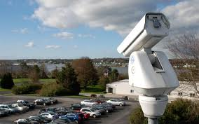 parking lot security camera system