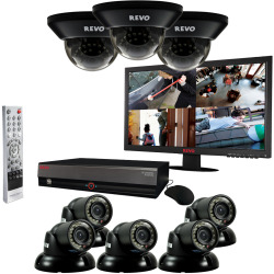 DVR systems for recording footage