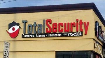 home video surveillance camera system installation