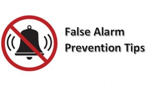 Suffolk County False Alarm Prevention Tips