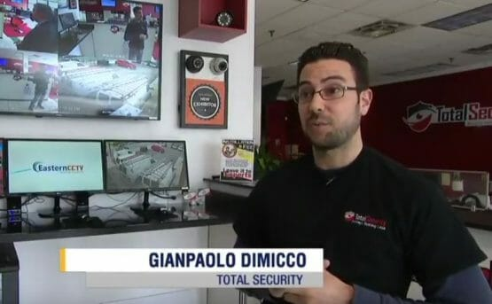 Total Security Interview on News12 Long Island Giving Insights About Knifepoint Retail Robbery