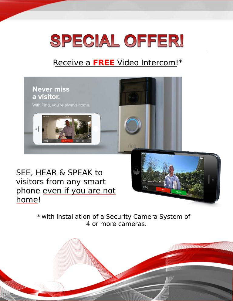 Total Security NY and NJ Special Offer