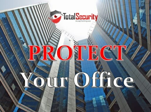 security cameras and door access control systems for office buildings in Manhattan
