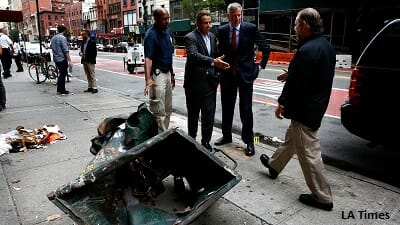 New York City Pipe Bomb Attack